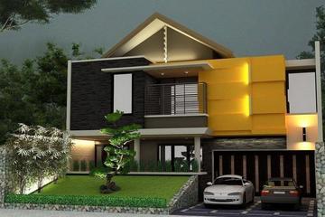 Desain rumah di Malang, jawa timur.
