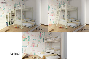Kid's Bunk Bed