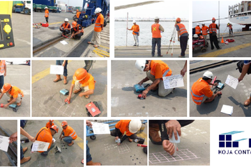 Structural Assessment at Docks Container Terminal, Koja, Jakarta