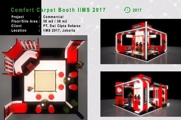 Design-Only Comfort Carpet Booth IIMS 2017