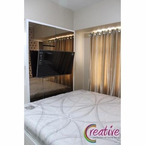 Backdrop TV Master Bedroom