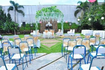decor akad nikah outdoor