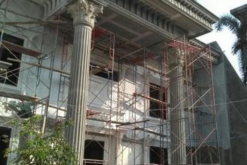 pembangunan rumah di  pondok indah
