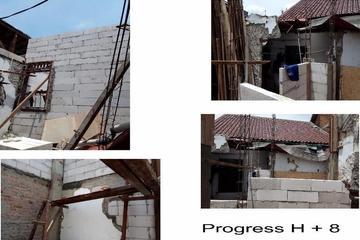Progress renovasi