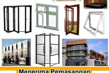 Kusen, Pintu dan Jendela Aluminium