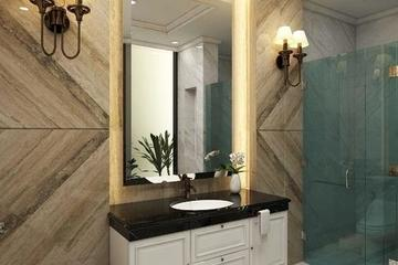bath room dengan design klasik
