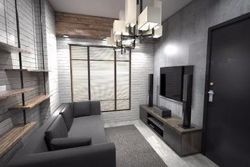 Propose Design for one bedroom apartment in tebet