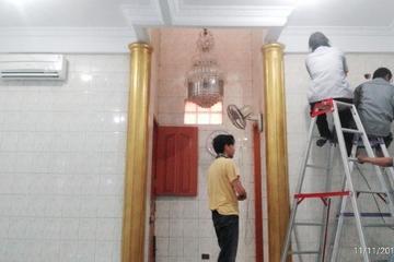 Pemasangan 2 unit AC baru di Musholla Nurul Hikmah, Jl. Kota Bambu Utara I, Jl.K IV RT008/RW03 Kelurahan Kota Bambu Utara, Kecamatan Palmerah, Jakarta Barat