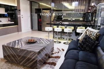 Hasil Jadi Custom LIVING ROOM ruang keluarga
