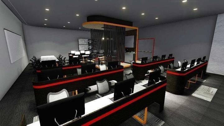 Desain ruang kantor 1