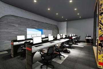 Desain ruang kantor 5