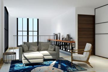 living room tebet house