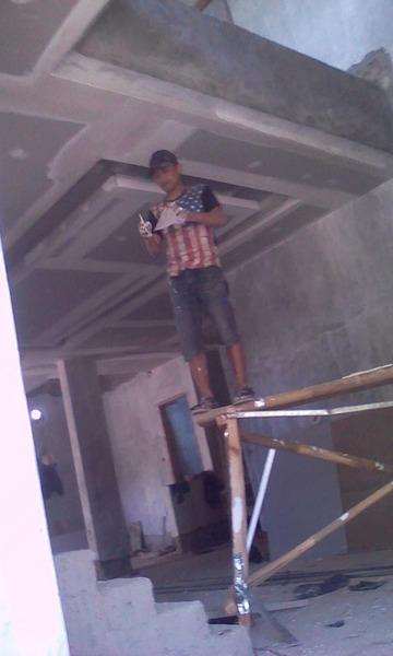 interior pemasangan plafone dan partisi