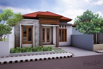 Desain Rumah Type 50, Bpk Usman, Cinere depok