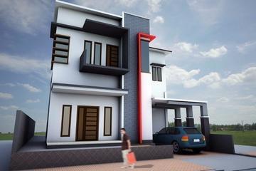 Desain Rumah tinggal Bpk. Ismail, Ternate Maluku Utara