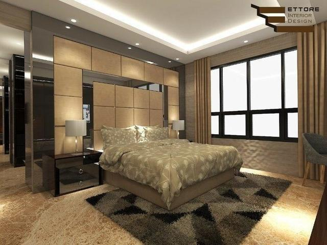 Luxury Bedroom Design by Ettore Interior Design