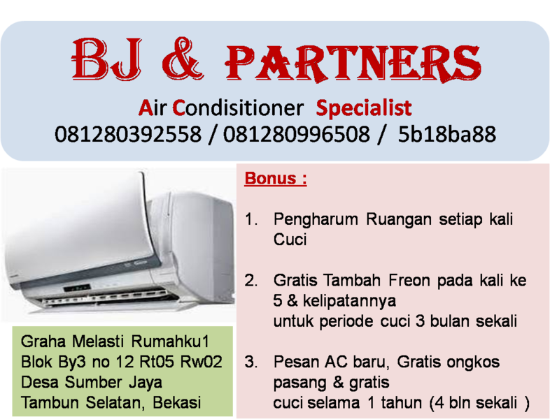 BJ & Partner  Home Applience Services