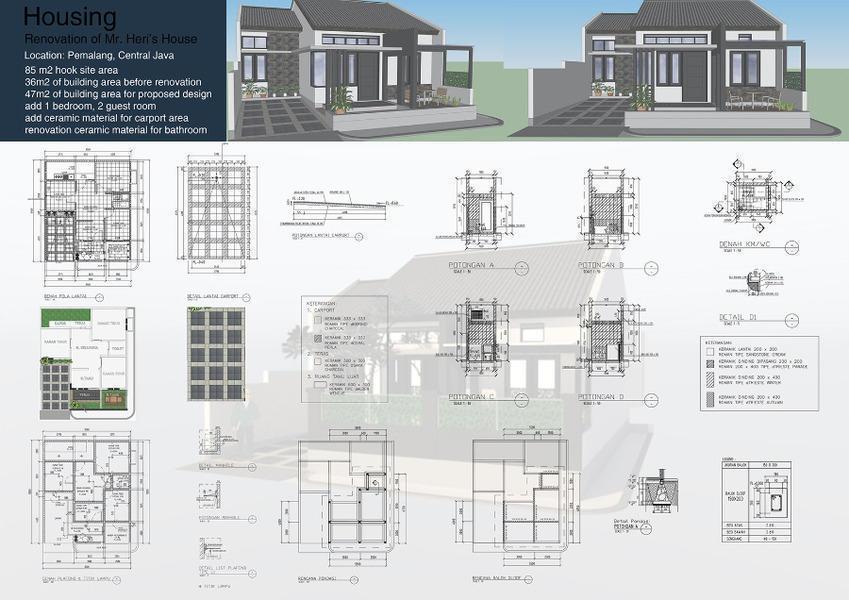 Jasa desain bangunan dan interior
