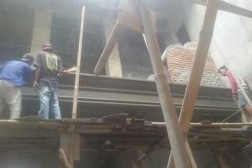 pembuatan lisplang beton