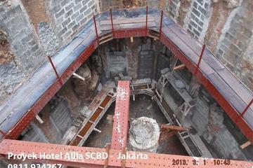 Tretment Rayap di Proyek Hutama Karya Hotel Alila SCBD