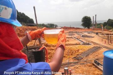 Tretment Rayap di Proyek Hutama Karya Hotel Di Bintan Sumatera