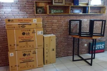 Pemasang AC LG Dual Inverter baru cafe NURUL FIKRI Sukasari bogor
