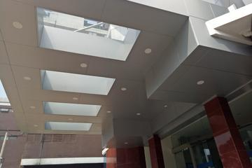 Canopy ACP + kaca Laminated 10 mm