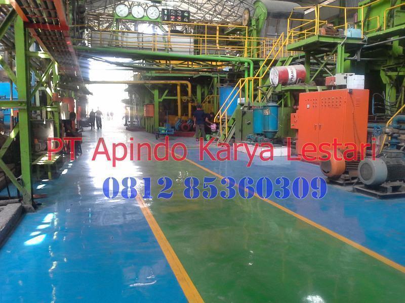 Kontraktor Epoxy Lantai Gudang & Pabrik Bergaransi dengan kualitas terjamin