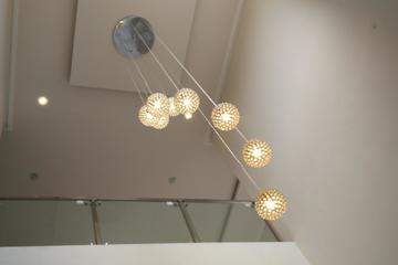 Plafond dan Lapu Ruang Tamu