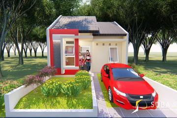 Exterior - Tampak depan rumah dengan konsep modern.