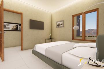 Interior-Kamar tidur sebagai tempat beristirahat ,dan bersantai.Dengan konsep minimalist.