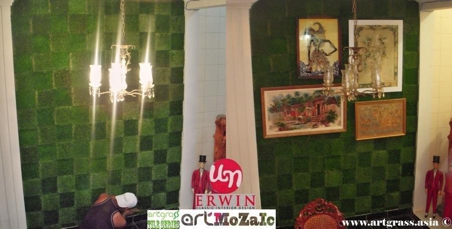Rumput Sintetis Taman Dekorasi Artgrass