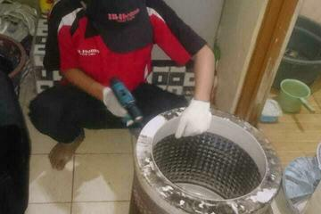 Cleaning mesin cuci