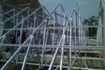 Rangka atap baja ringan bentangan 9 m