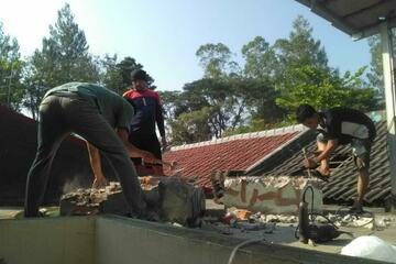 pekerjaan renovasi