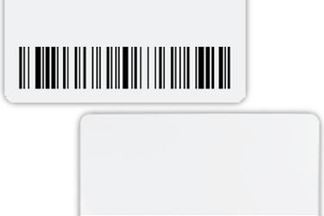 kartu member dengan magnetic swipe