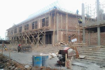 Pembangunan ruko pasar cianjur