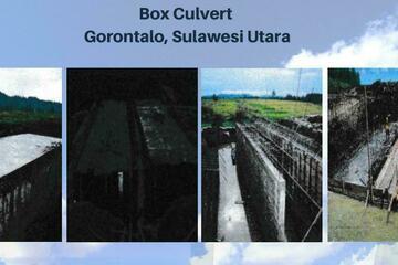 Box Culvert Gorontalo, Sulawesi Utara