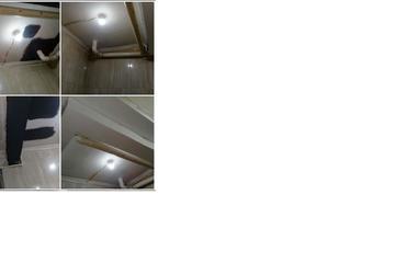 Renovasi Plafon dan Pasang Lampu