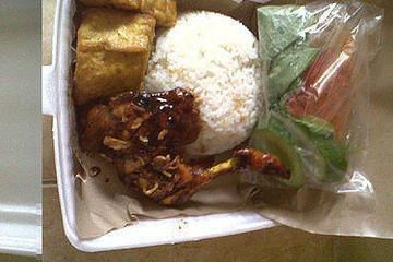 menu nasi box