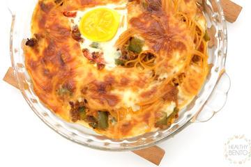 Menu: Baked Spaghetti