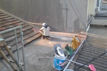 perbaikan kebocoran pada dak