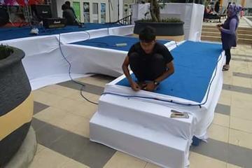 Stage setup @ ARA Hotel Gading Serpong Tangerang