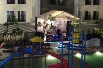 Stage @ New Year 2015 ARA Hotel Gading Serpong Tangerang