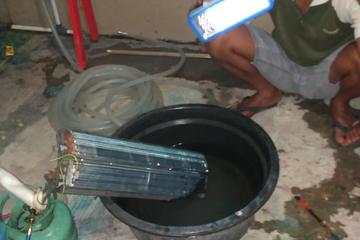 Perbaikan evaporator Indoor AC