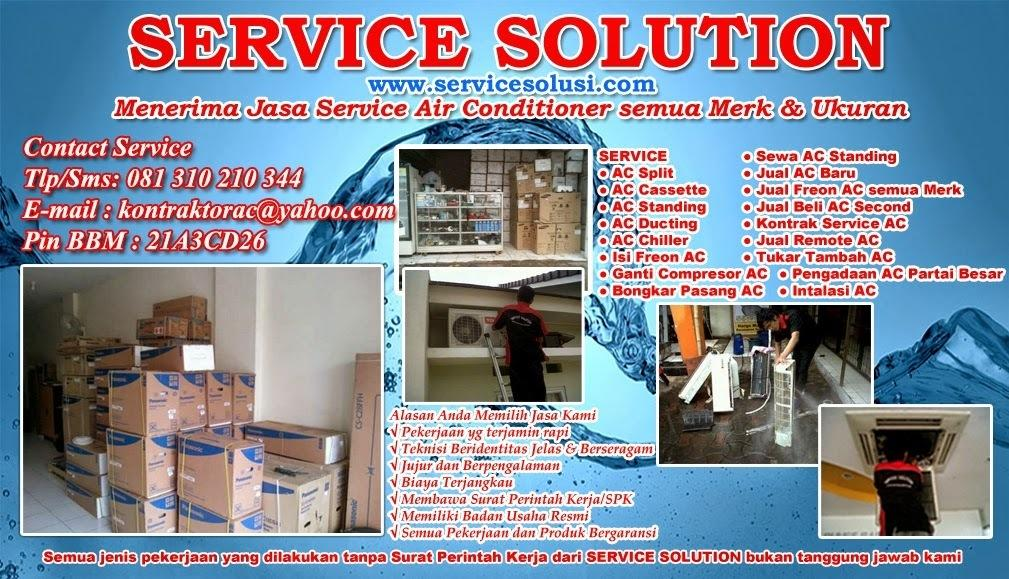 Contoh Brosur Service Ac - Aneka Contoh