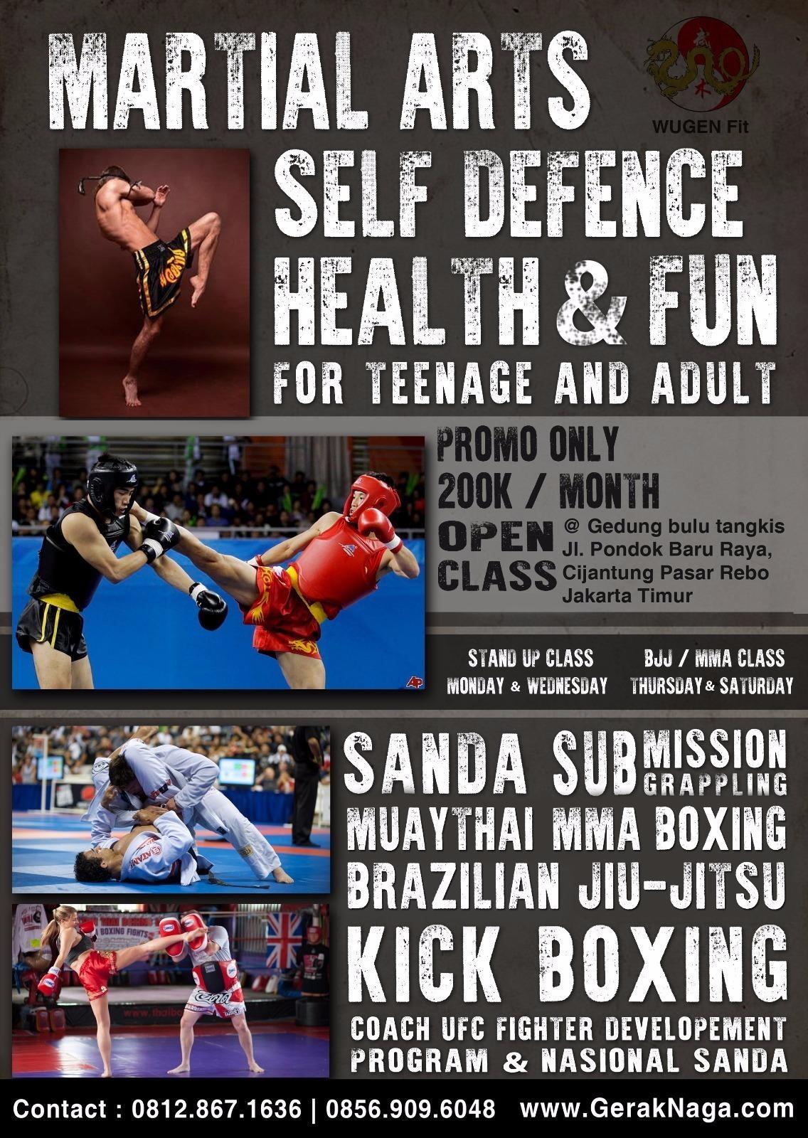 GENBORN Academy (GerakNaga): MuayThai/SANDA/Boxing/MMA/BJJ/Sambo