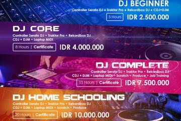Paket Belajar DJ di DOMS DJ School