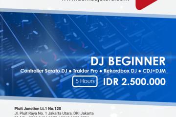 Paket DJ khusus pemula.