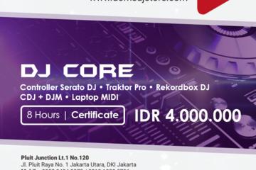 Paket DJ yang cukup lengkap